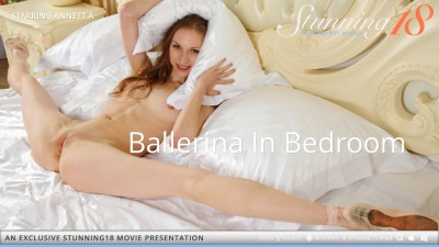 ST18 – 2013-10-15 – ANNETT A – BALLERINA IN BEDROOM – by ANTONIO CLEMENS (Video) Full HD MP4 1920×1080