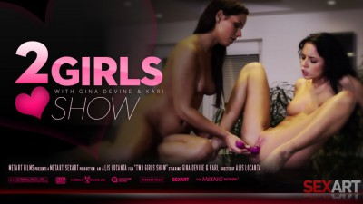 SA – 2013-11-29 – GINA DEVINE & KARI A – 2 GIRL SHOW – by ALIS LOCANTA (Video) Full HD MP4 1920×1080