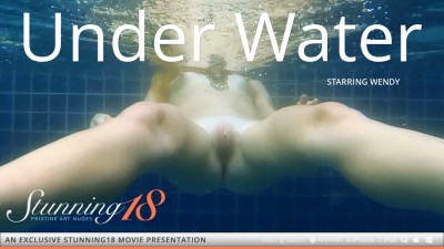 ST18 – 2014-01-25 – WENDY – UNDER WATER – by ANTONIO CLEMENS (Video) Full HD MP4 1920×1080