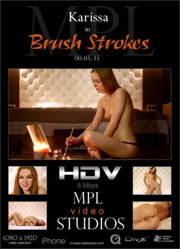 MPL – 2015-04-04 – Karissa – Brush Strokes – by Bobby (Video) Full HD DivX   MOV   WMV 1920×1080