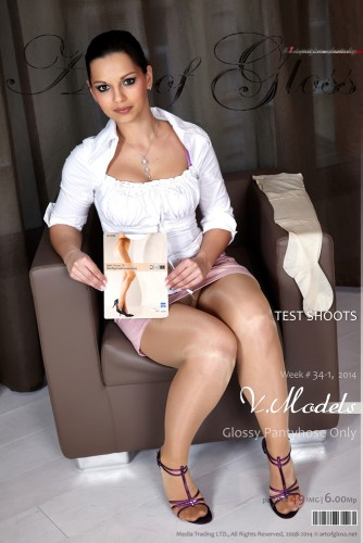 AG – 2014 Week 34-1 – Various Models & Test Shoots in Glossy Pantyhose Only [part III] (49) 2000×3000