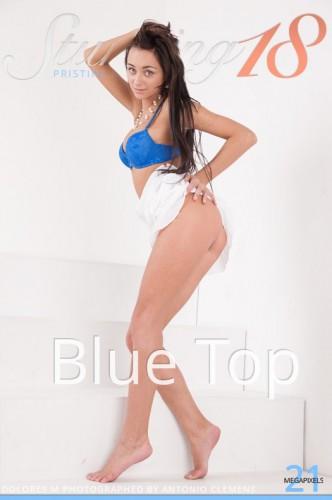 ST18 – 2015-04-15 – DOLORES M – BLUE TOP – by ANTONIO CLEMENS (75) 3744×5616