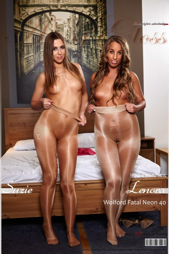 AG – 2015 Week 30-2 – Suzie & Lenora in Wolford Fatal Neon 40 [part I] (49) 2000×3000