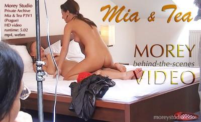 MS – 2016-08-10 – Mia M & Tea (Prague) – P3V1 BTS (Video) MP4 576×720