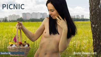 EroticDesire – 2018-06-30 – Sasha W – Picnic (Video) Full HD MP4 1920×1080