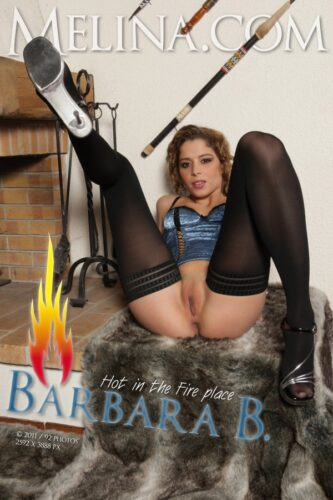 Melina – 2011-08-14 – Barbara B – Hot in the Fire Place (92) 2592×3888