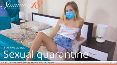 ST18 – 2020-08-09 – MONICA – SEXUAL QUARANTINE – by THIERRY MURRELL (Video) Full HD MP4 1920×1080