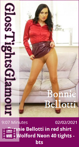GTG – 2021-02-02 – Bonnie Bellotti in red shirt with Wolford Neon 40 tights – bts (Video) Full HD MP4 1920×1080