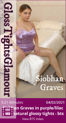 GTG – 2021-02-04 – Siobhan Graves in purple lilac with natural glossy tights – bts (Video) Full HD MP4 1920×1080