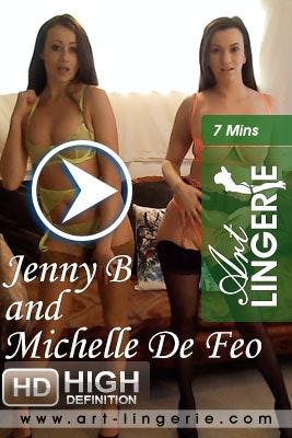 AL – 2021-04-01 – Jenny B, Michelle De Feo (Video) Full HD MP4 1920×1080