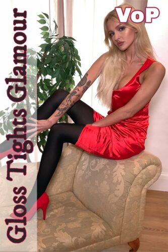 GTG – 2021-08-03 – Annabelle – Red dress with black tights – VoP (Video) Ultra HD 4K MP4 3840×2160