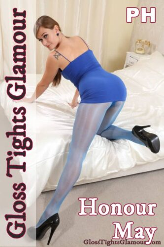 GTG – 2021-03-01 – Honour May in electric blue, sheer glossy tights (112) 3840×5760